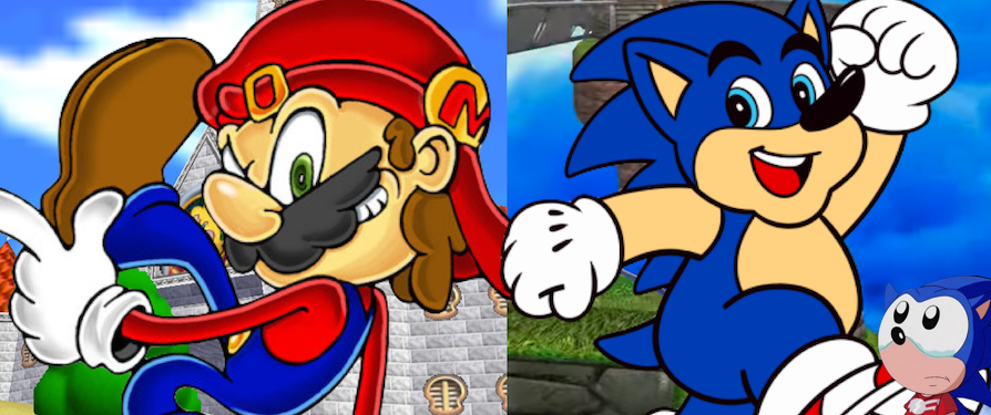 Freak-Out Friday: If Mario & Sonic Switched Personalities, Plus Photoshop Contest