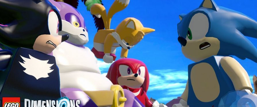 Shadow, Big, Tails & Knuckles are in Lego Dimensions