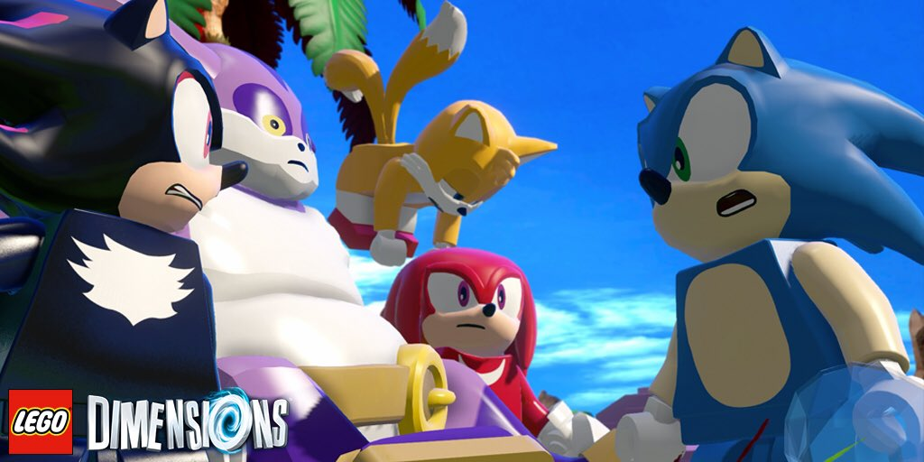 Shadow Big Tails Knuckles Are In Lego Dimensions The Sonic Stadium