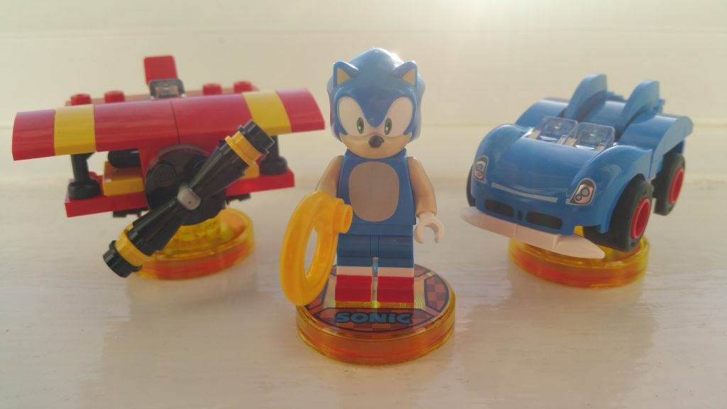Sonic's the name, LEGO's my game!
