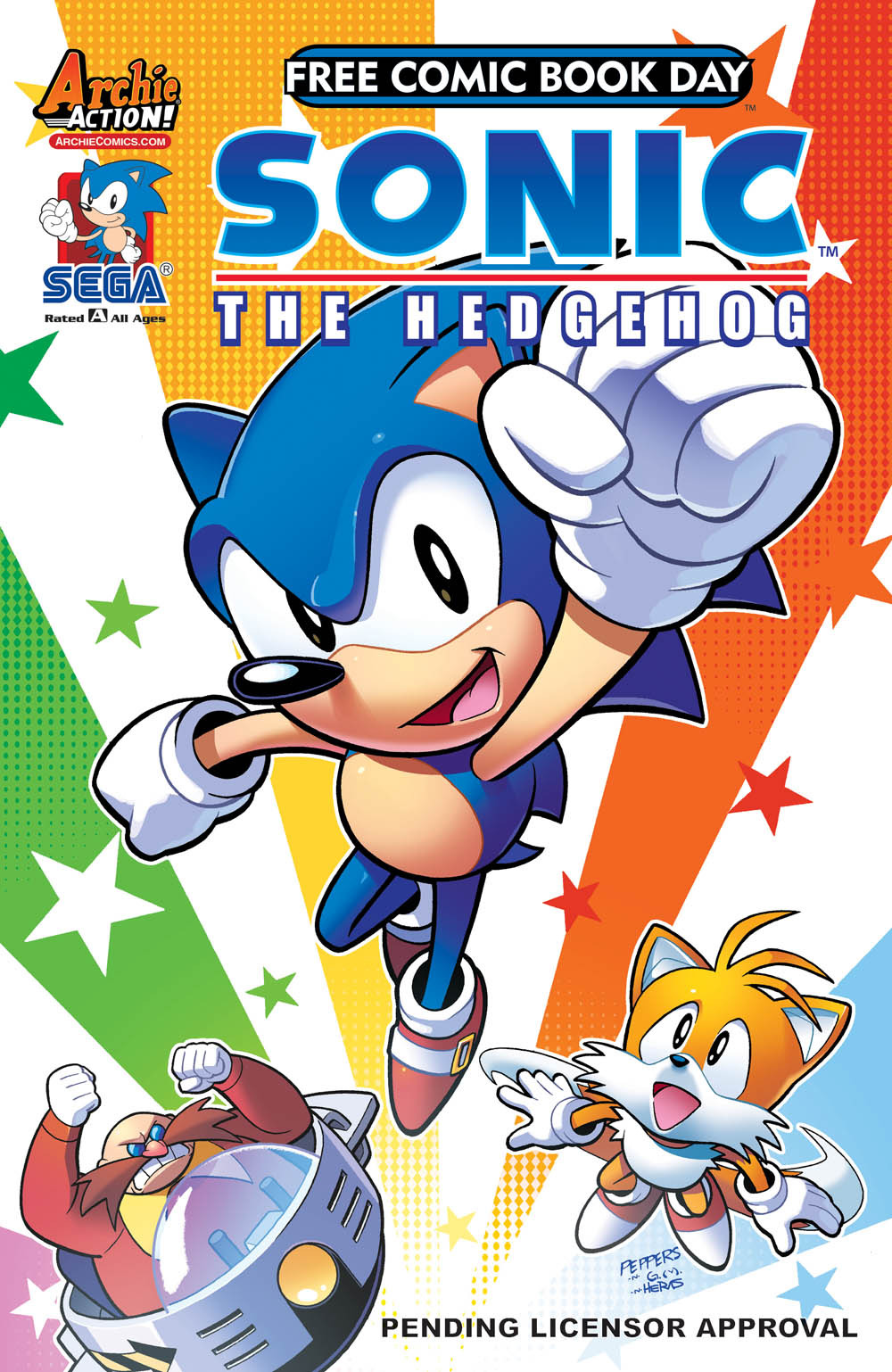 Comic Previews Sonic The Hedgehog 293 Sonic Universe
