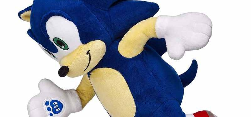 Sonic & Tails Speed To The Build-A-Bear Factory