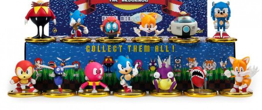 Sonic X Kidrobot Blind Box Figures and Keychains Now Available