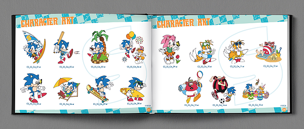 Multiple Sonic Sega 2016 Style Guides Discovered The Sonic Stadium