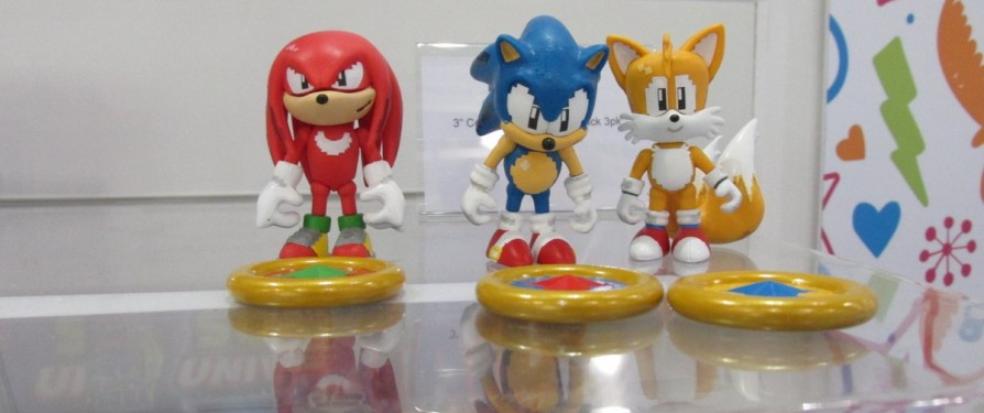 16bit Themed Sonic Figures Shown at London Toy Fair 2017