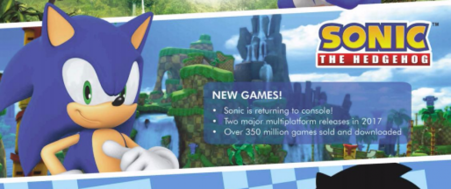 "ToyWorld: ""Solid Roadmap of Sonic Games for Next Few Years"""