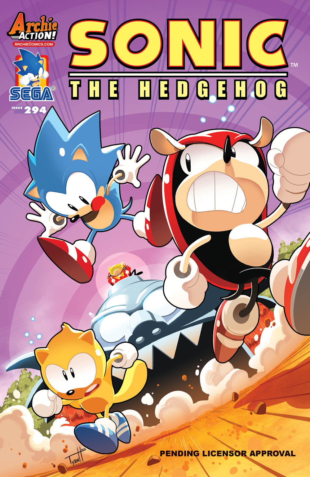 Solicits For Sonic The Hedgehog 294 Sonic Universe 97
