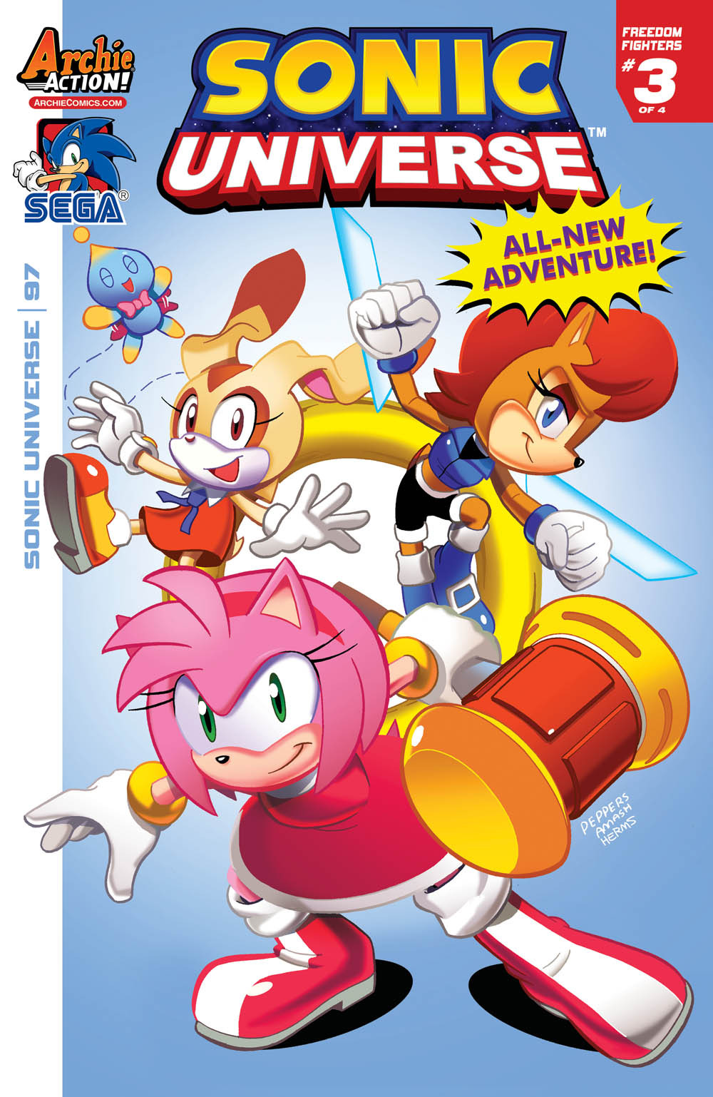 solicits for sonic the hedgehog 294 sonic universe 97 and more