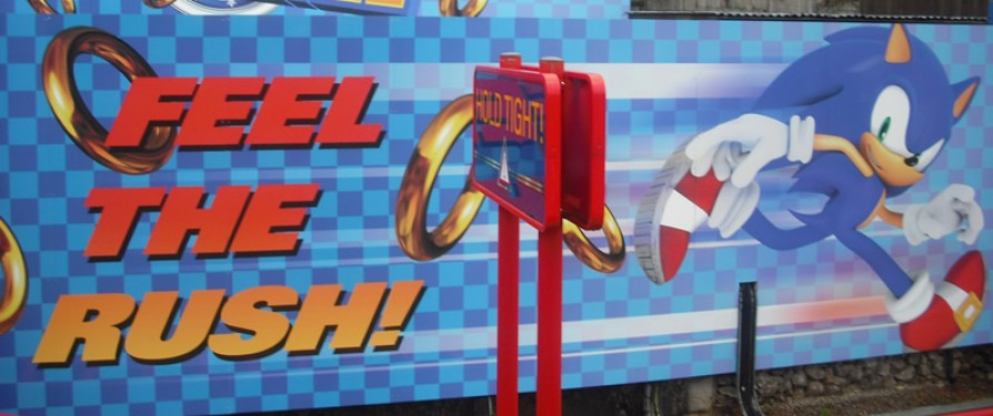 Sonic to Get a VR Themed Roller Coaster Experience?