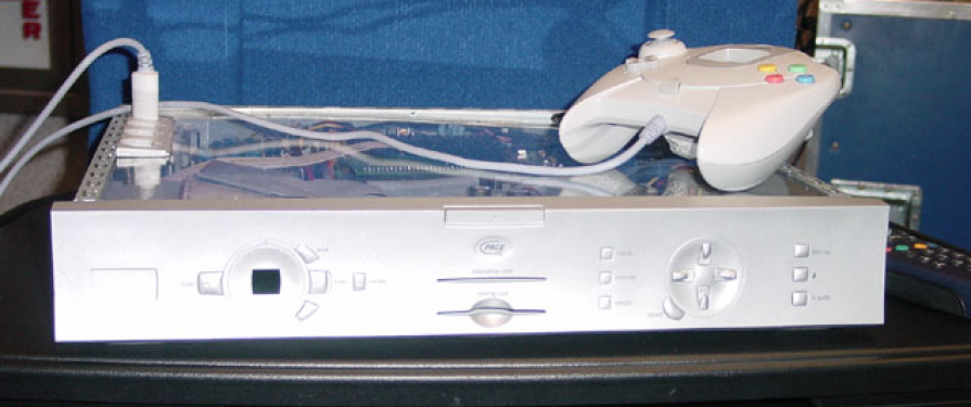 Sega Partners With Pace Micro Technology to Make Dreamcast Set Top Boxes