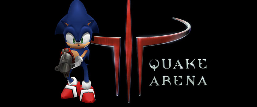 Play as Sonic in These PC Mods for Quake and Star Trek