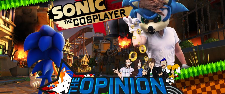 Opinion Zone 61: Is Sonic Forces a step backwards? Special Guest: Sonic The Cosplayer
