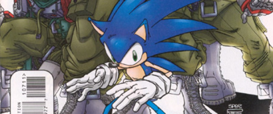 Comic Preview: Sonic the Hedgehog #107