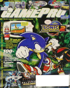 GamePro Dedicates Latest Issue to Sonic – The Sonic Stadium
