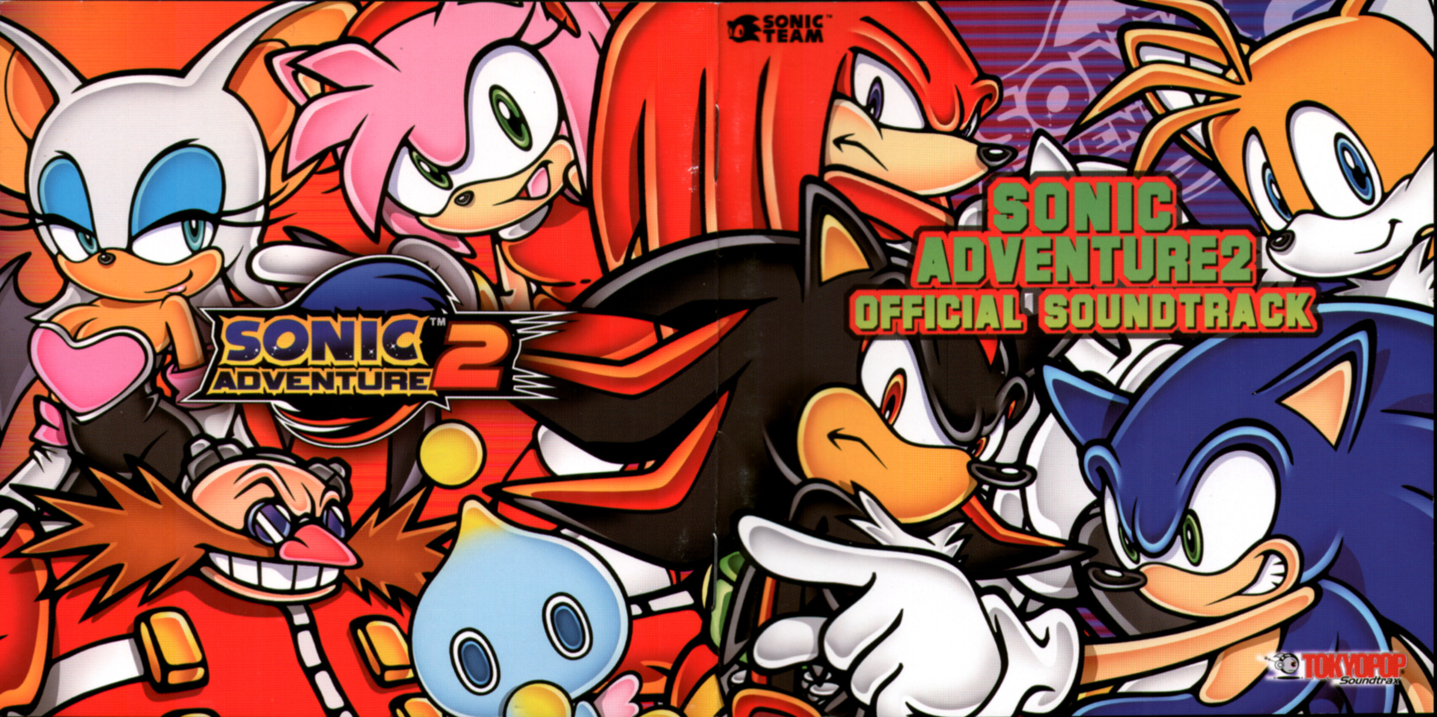 9a51f5250e309 Tokyopop Officially Announces US Release of Sonic Adventure 2 OST ...
