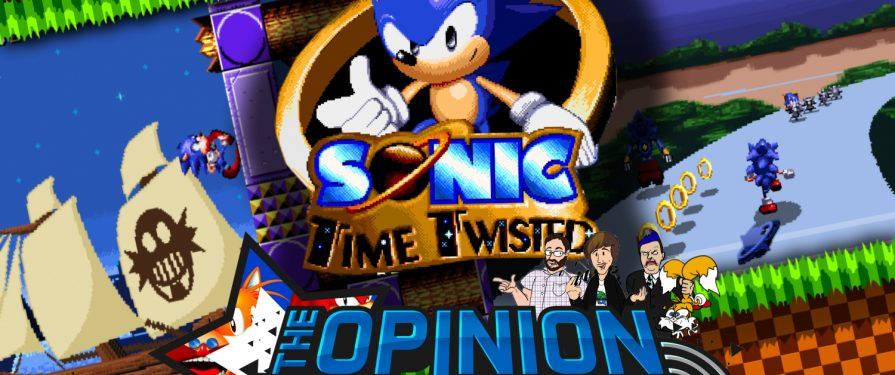 Opinion Zone 65: Sonic Time Twisted Interview with creator Overbound Games!