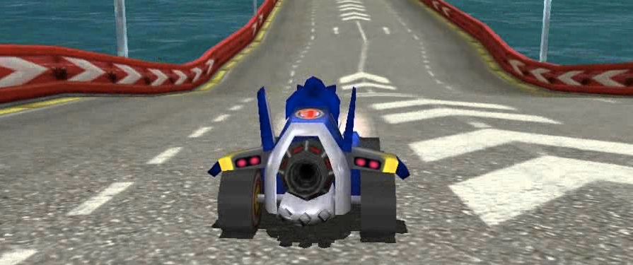 Sonic Adventure 2 Getting Karting Mini-Game