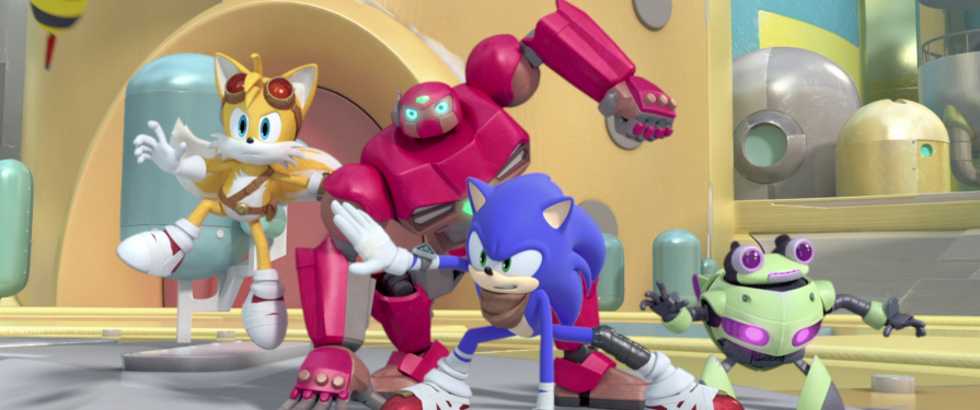 TSS Review: Sonic Boom Season 2 – Robots From The Sky Parts 1-4