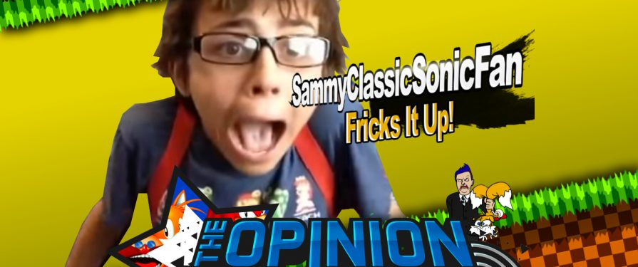 Opinion Zone 67: SammyClassicSonicFan Interview