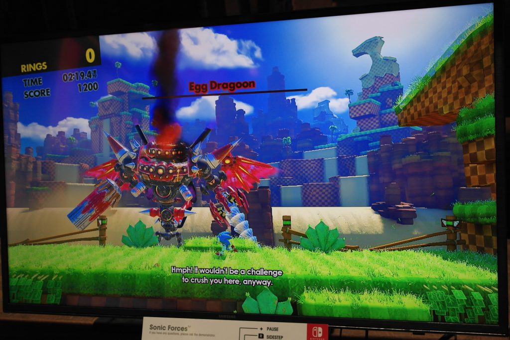 Sonic Forces on Nintendo Switch E3 Impressions – The Sonic