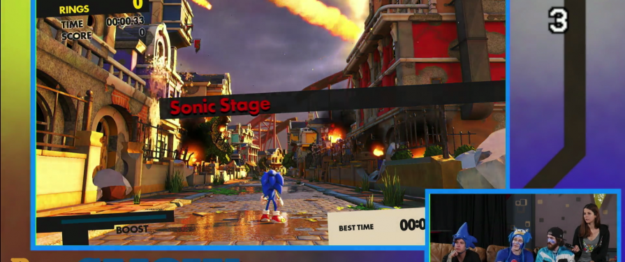 Sonic Forces & Mania Demo Footage Showcased on Twitch Stream