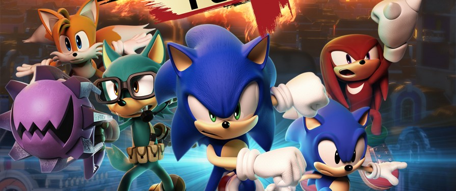 Sonic Forces @EGX 2017 Hands On Impressions