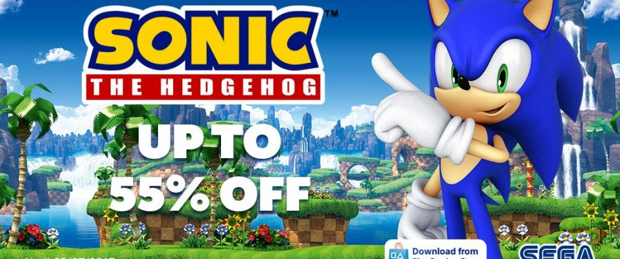 Sonic sale on EU PSN Store