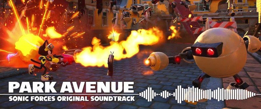Here's A Sneak Peek at Sonic Forces' Park Avenue Theme for the Custom Hero