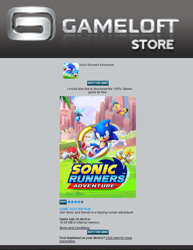 Update: Sonic Runners Adventure Out Now – The Sonic Stadium