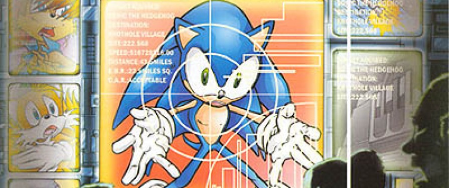 J. Axer Confirmed as Second Fan Hire for Archie in Sonic #109 and #110
