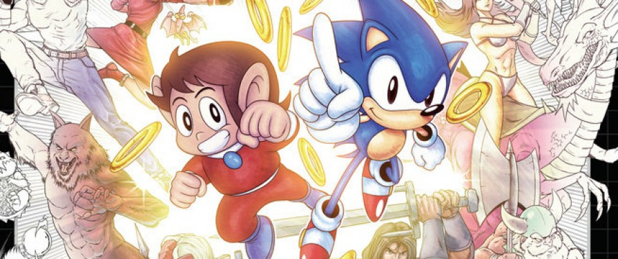 SEGA Colouring Book on the Way