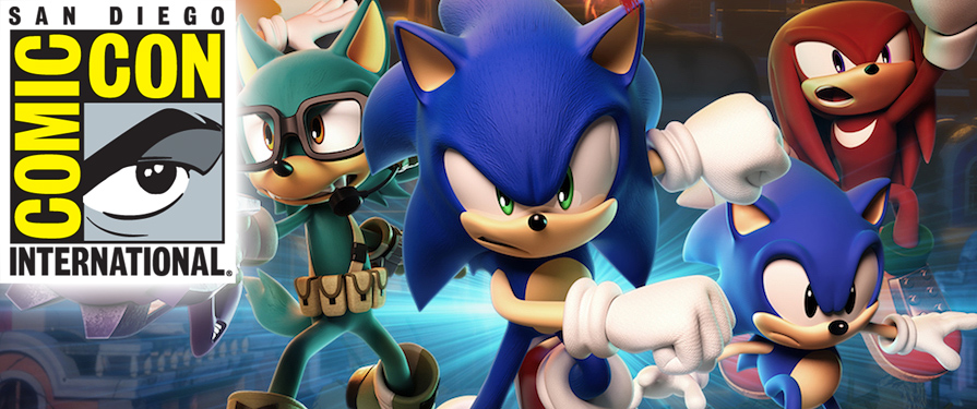 Of Manias, Forces, and Serials: A Sonic at SDCC 2017 Recap