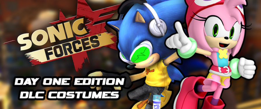 Sonic Forces Day One Edition Listed – Includes Avatar Costume DLC