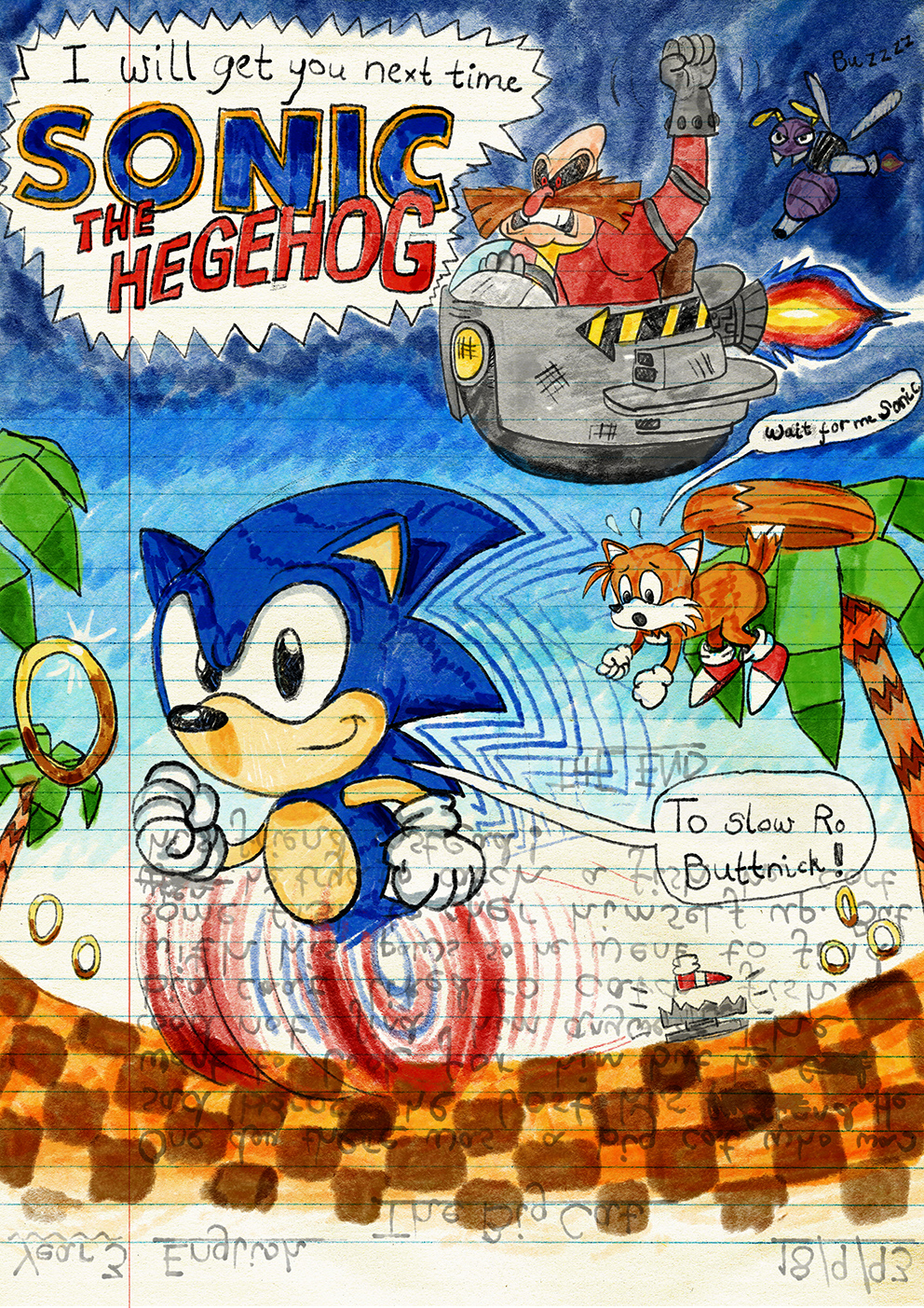 Sonic Mania Drawn Back To The 90s Competition The Winners The Sonic Stadium