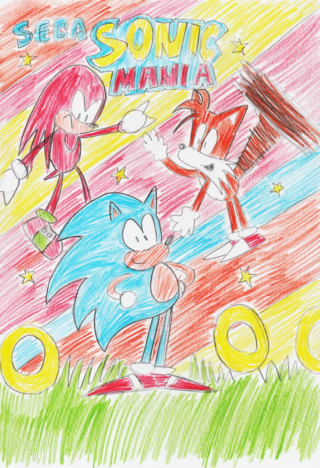 Sonic Mania Drawn Back To The 90s Competition The