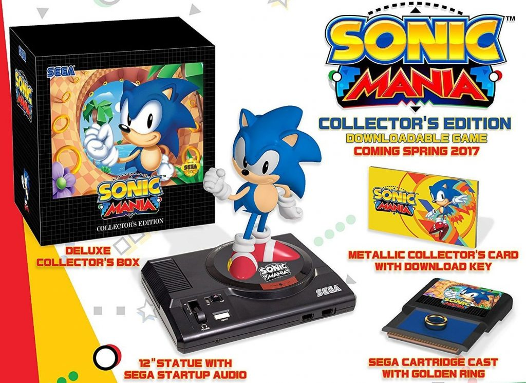 Sonic Mania Collector S Edition Vinyl Soundtrack Back In Stock New T Shirts The Sonic Stadium