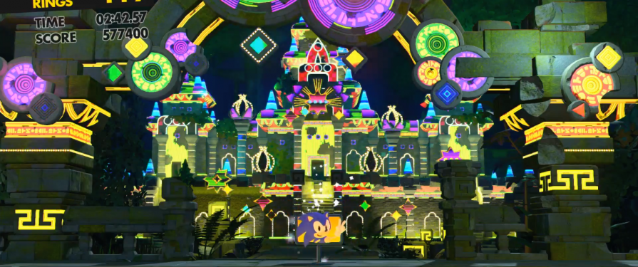 New Classic Stage 'Casino Forest' Revealed for Sonic Forces