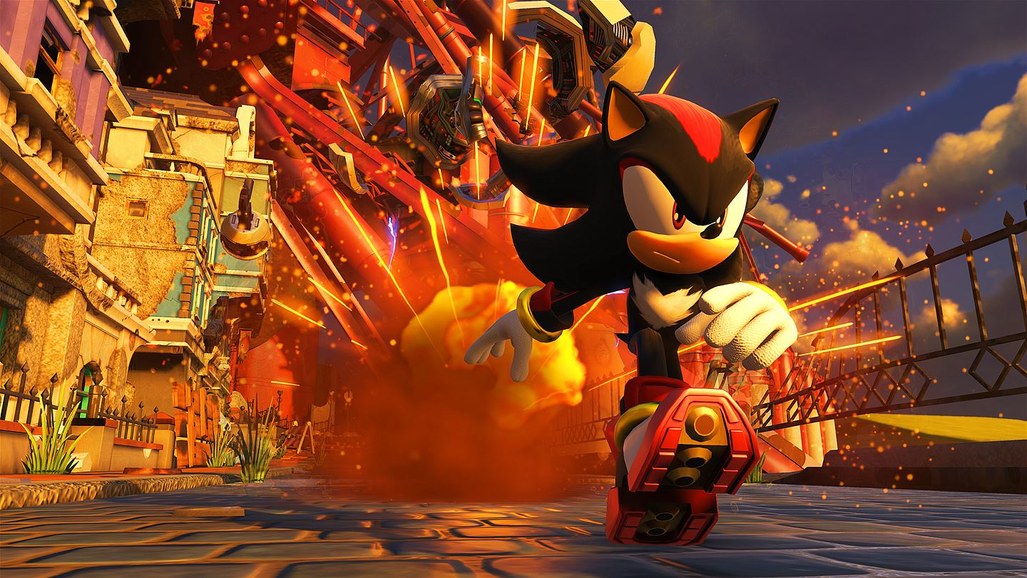 Playable Shadow the Hedgehog Returns as Free Sonic Forces DLC