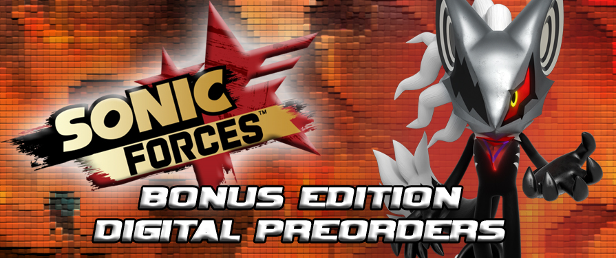 Digital Preorders for Sonic Forces' Bonus Edition Are Now Going Live