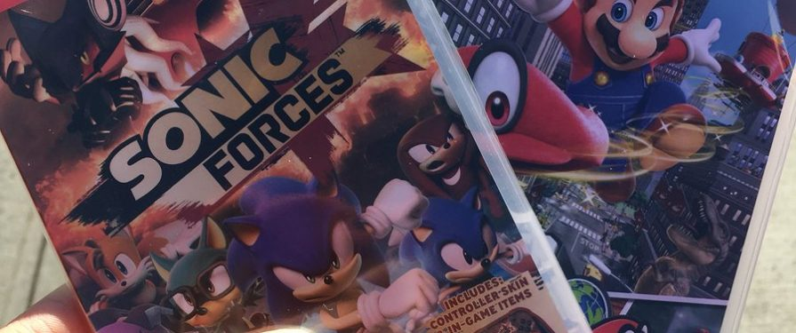 Sonic Forces Leaks Early