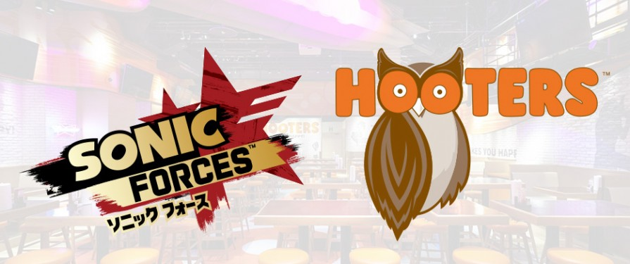 Sonic x Hooters Collaboration Deal Includes Cool Sonic Forces Coasters