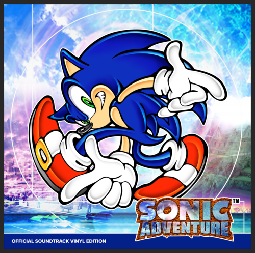 sonic adventure 1 2 soundtracks to be released on vinyl record