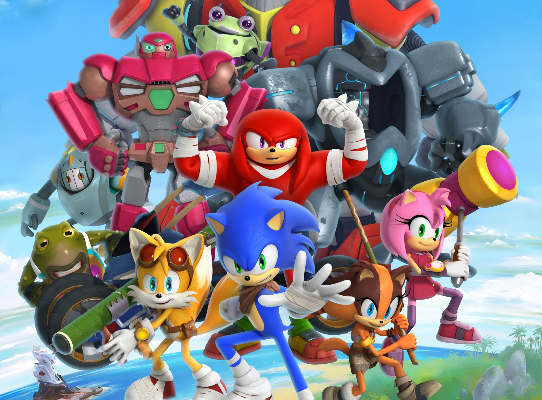 Sonic Boom Season 2 The Sonic Stadium