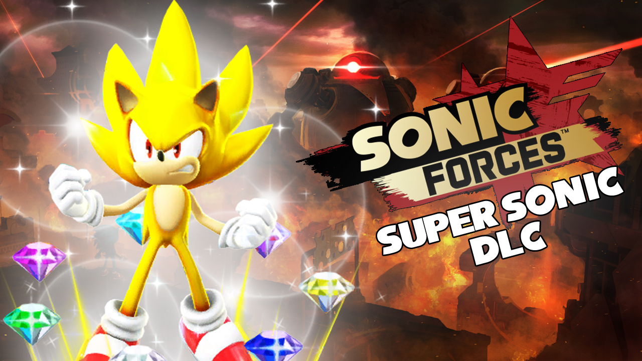 Super Sonic Dlc Crashlands Into Sonic Forces Free For A Limited Time The Sonic Stadium