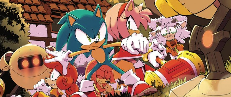 Comic Preview: Solicitation Revealed for IDW Sonic the Hedgehog #2