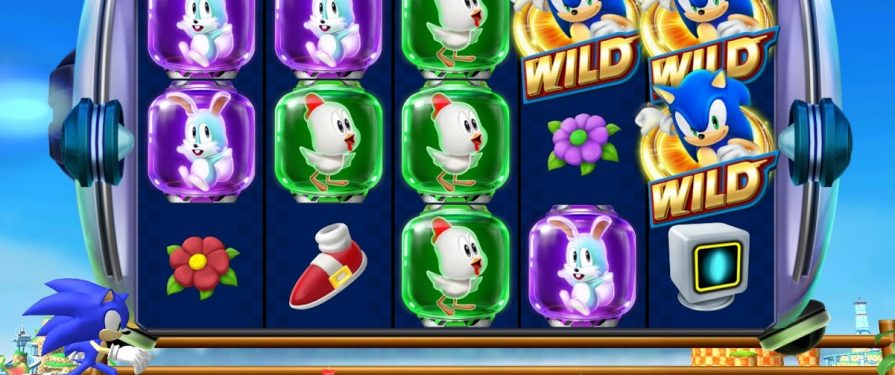 Sonic Stars in New Sega Slots Game for iOS and Google Play