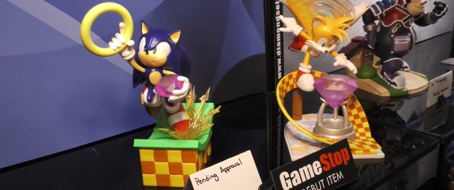 First Images of Diamond Select Sonic Figures Surface