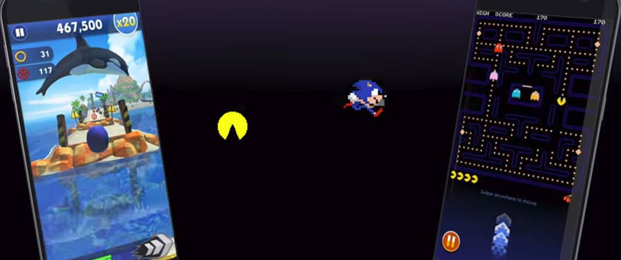 Sonic and PAC-MAN to Swap Places in Sonic Dash and PAC-MAN Mobile Games