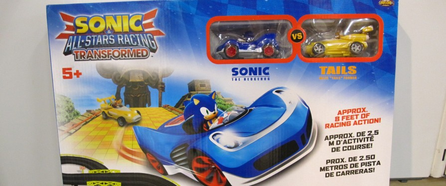 Toy Maker Zappies Claim New Sonic Racing Game for 2018