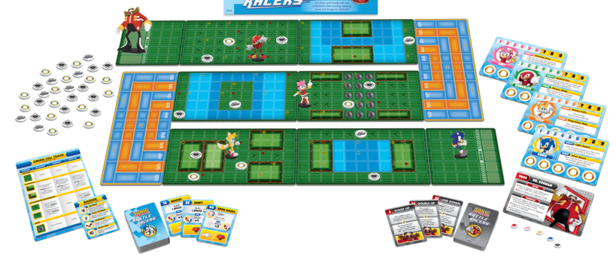 Sonic the Hedgehog: Battle Racers Board Game Announced